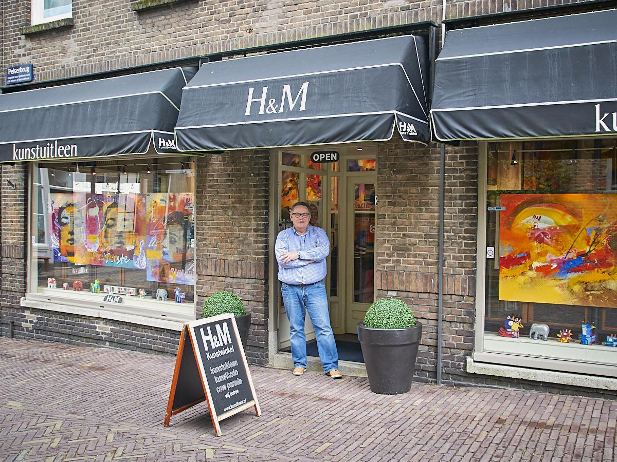 Herman Kramer, H&M Kunstuitleen